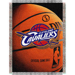 Cleveland Cavaliers Photo Realistic Tapestry Throw