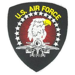 US Air Force Eagle Fighter Patch