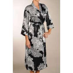 Reanna Long Print Kimono Robe