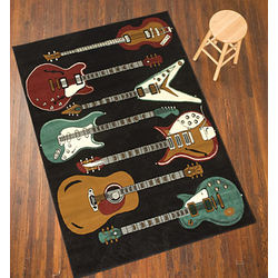 Rock and Roll 6' x 8' Rug