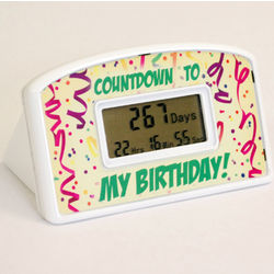 Birthday Countdown Clock