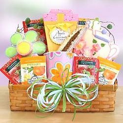 Tea Time for Mom Gift Basket