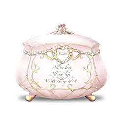 All My Love Daughter's Personalized Music Box