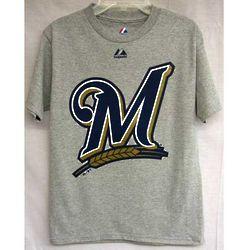 Men's Milwaukee Brewers Logo T-Shirt