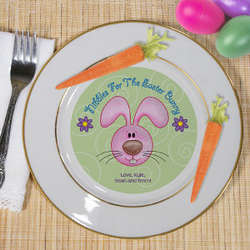 Personalized Ceramic Easter Plate
