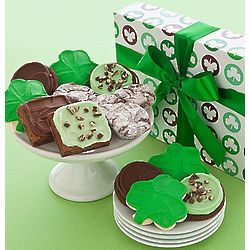 St. Patrick's Day Truffles, Cookies and Brownies