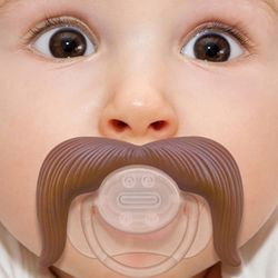 Cowboy Mustache Pacifier