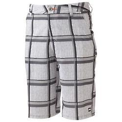 Men's 5 Pocket Plaid Shorts