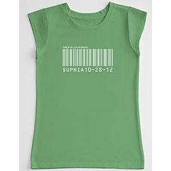 Barcode Girl's T-Shirt