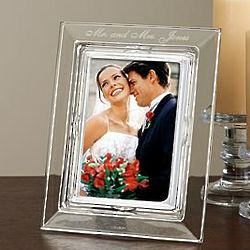 Personalized Crystal Frame