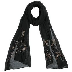 Cross Studded Scarf