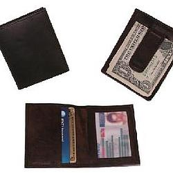 Duo-Fold ID Money Clip and Card Holder