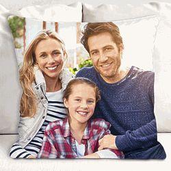 "Personalized 13"" Photo Throw Pillow"