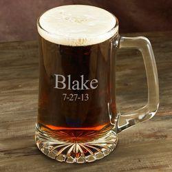 25 oz. Personalized Sports Mug