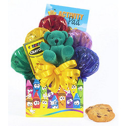 Color Time Cookie Crayon Box