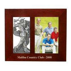 "Pewter Golfer 4"" x 6"" Photo Frame"