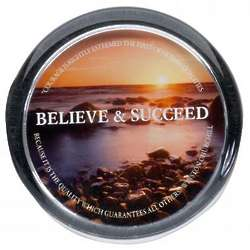 Believe & Succeed Positive Outlook Paperweight