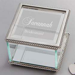 Personalized Jewelry Box for Bridesmaids