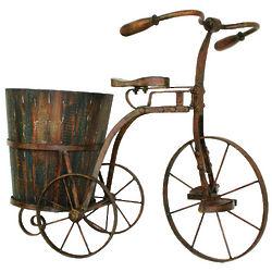 Metal Planter Trike