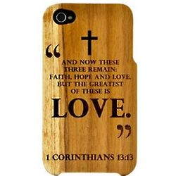 Corinthians Wooden Cell Phone Case