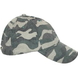 Mens Cotton Camo Baseball Hat