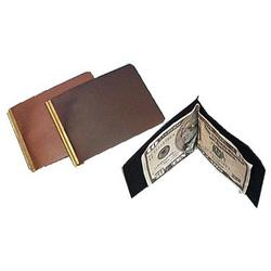 Basic Leather Money Clip