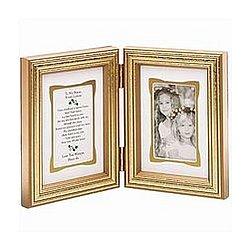 Sisters Bi-Fold Gold Frame