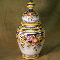 Classic Spanish Ginger Jar
