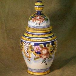 Classic Spanish Ginger Jar