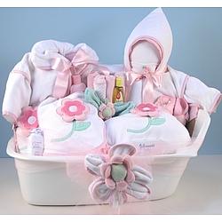 Bath Bedtime Baby Deluxe Gift Set for Girl