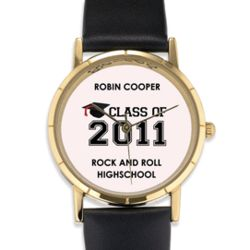 Personalized Class of Graduation Cap Watch