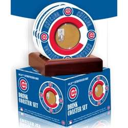 Chicago Cubs Coasters with Game Used Dirt