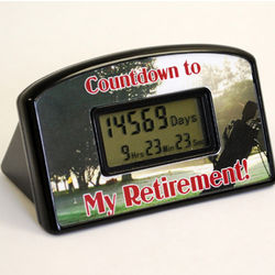 Golf Retirement Countdown Clock