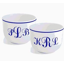Personalized Monogram Ice Cream Set