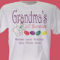 Lil' Bunnies Personalized Easter T-Shirt