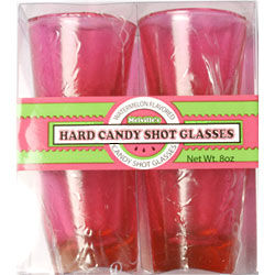Watermelon Hard Candy Shot Glasses