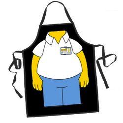 Homer Simpson BBQ Apron