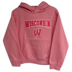 Wisconsin Badgers Youth Girl's Hoodie