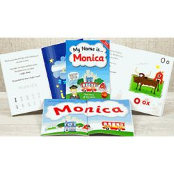 Personalized Name Kids Book