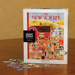 The New Yorker 1953 Farm Auction Puzzle