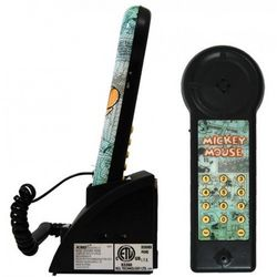 Compact Mickey Mouse Phone