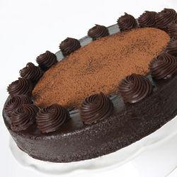 Classic Chocolate Truffle Cake