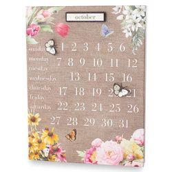 Nature's Beauty Perpetual Calendar