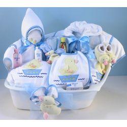 Bath Bedtime Deluxe Baby Boy Gift Set