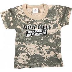 """Army Digital Camo """"Commando of the Playground"""" T-Shirt"""