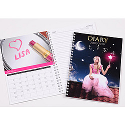 """""""All Things Pink"""" Personalized Planner"""