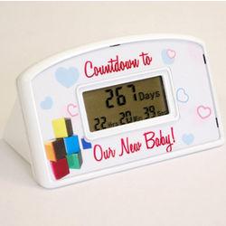 New Baby Countdown Clock