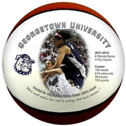 Personalized Full Size Basketball with Color Graphics