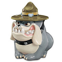 Basic Craving USMC Devil Dog Cookie Jar