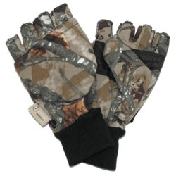 Men's Convertible Camouflage Gloves
